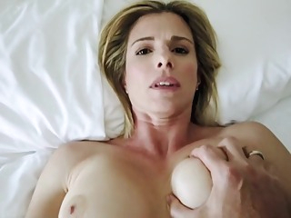 Sharing a Bed with my Step Mom on Hot Summer Night - Cory Chase big tits anal pov video