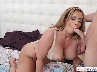 Eva Notty is eagerly fucking a guy she likes a lot, although he is not her husband big tits hd blonde video
