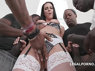Texas Patti and a group of horny, black guys are about to start fucking like crazy big tits anal hd video
